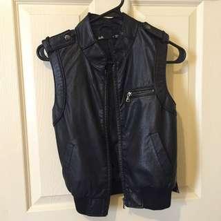 Dotti Faux Leather Vest