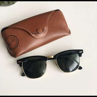 Ray Bans Black Clubmaster Classic