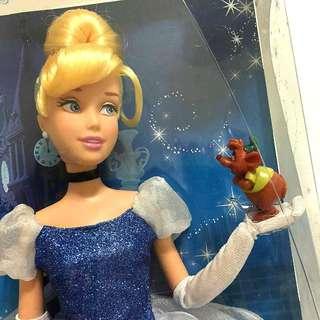 聖誕 禮物 美國 迪士尼 DISNEY STORE 現貨 灰姑娘 公主 芭比 娃娃 Cinderella 仙杜瑞拉