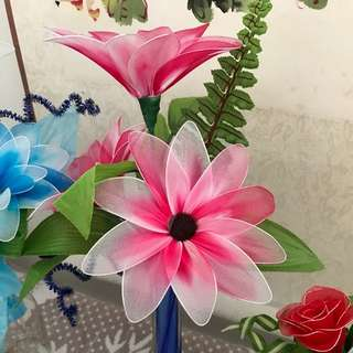 Handmade Stocking Flowers