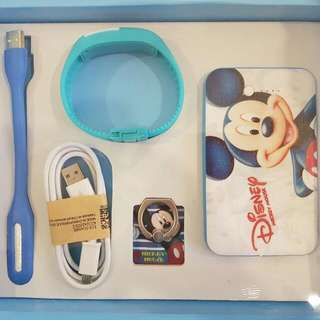 Mickey Mouse Powerbank Gift Set