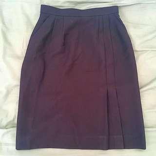 High Waist Office Pencil Skirt