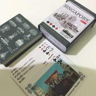 Singapore Poker Playing Cards