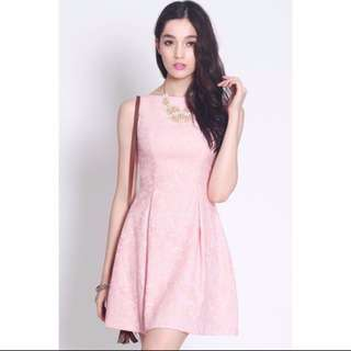 Fayth Marcia Textured Dress Size L