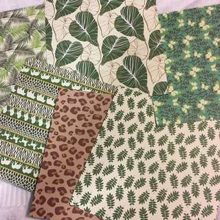 $3 Each Double Sided 20cm x 20cm Craft Papers