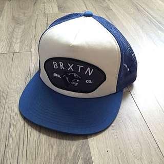 Brixton 藍白卡車司機棒球帽