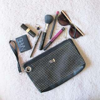 Collette Black Clutch