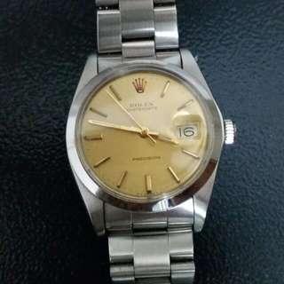 Rolex Watch Gold Dial