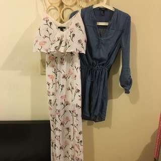 FOREVER21 渡假洋裝*2