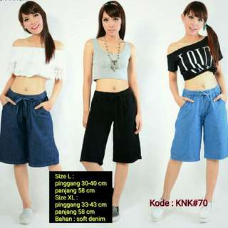 Kulot Soft Denim