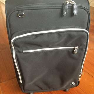 Black and Pink Carry on Luggage