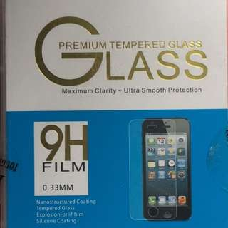 Tempered Glass (front only)