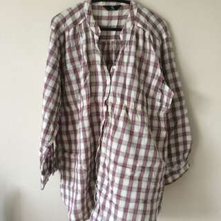 Mothercare Maternity Checkered Blouse