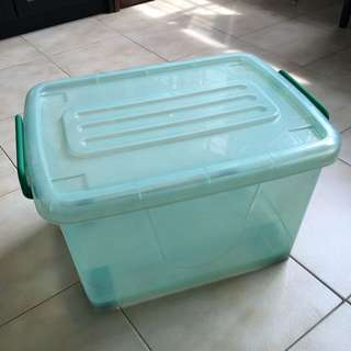 Small Plastic Container Storage