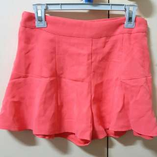 Temt Coral Shorts Size 8