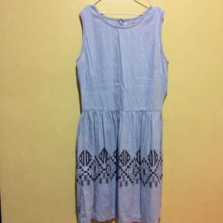 JustG light denim dress