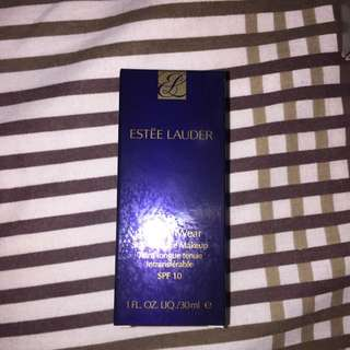 Empty Estee Lauder Double Wear Box