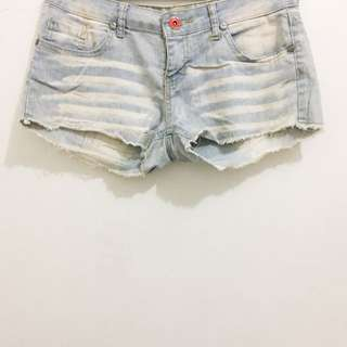 (Reserved) Grunge Denim Shorts