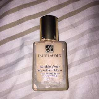 Empty Estee Lauder Bottle