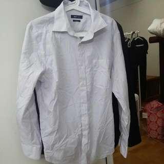 全新 NET 襯衫 Slim Fit (size 16 1/2)(沒穿過 下水過)(樹林大安路507號自取)