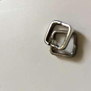 (降)純銀耳環
