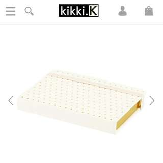 Kikki K A6 Leather Bonded Notebook