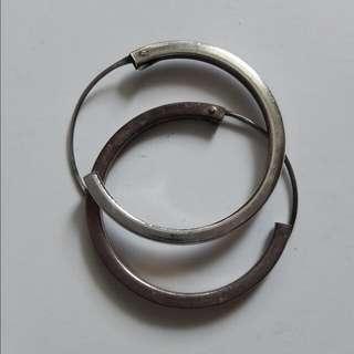 降)純銀耳環