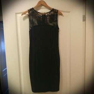 Black Dress From Zara