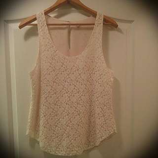 Talula Lace Tank Top From Aritzia