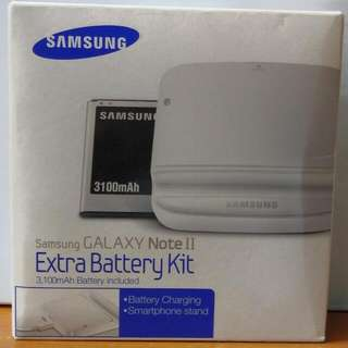 Samsung Note 2 Extra Battery (SOLD) & Battery Back Case (AVAILABLE)
