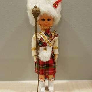 Vintage doll (Scotland Doll 2)