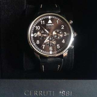 Cerutti 1881 Mens Watch