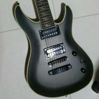 WTT/WTS FGN Fujigen J-Standard Mythic JMY-R/MBK 7 String Guitar