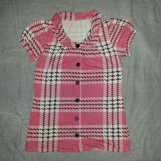 TURUN HARGA!! Preloved Top Vintage Pink