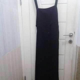 Overall Button Black