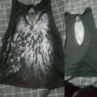 Small Owl Top From Jayjays