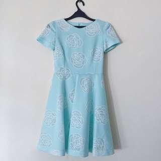 Taylor Made Flower Dress