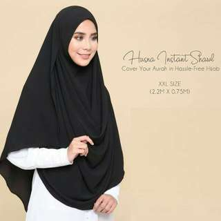 Free Gift - Husna XXL Instant Shawl - Please read the description below & Slide The Images