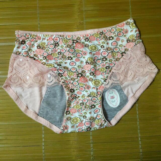蕾絲生理褲