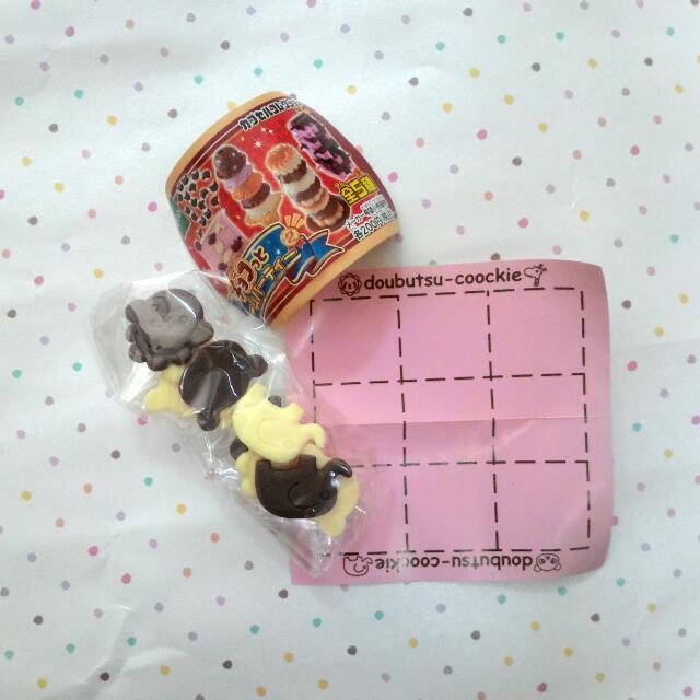 冰淇淋疊疊樂 動物餅乾 九宮格 遊戲 扭蛋 轉蛋