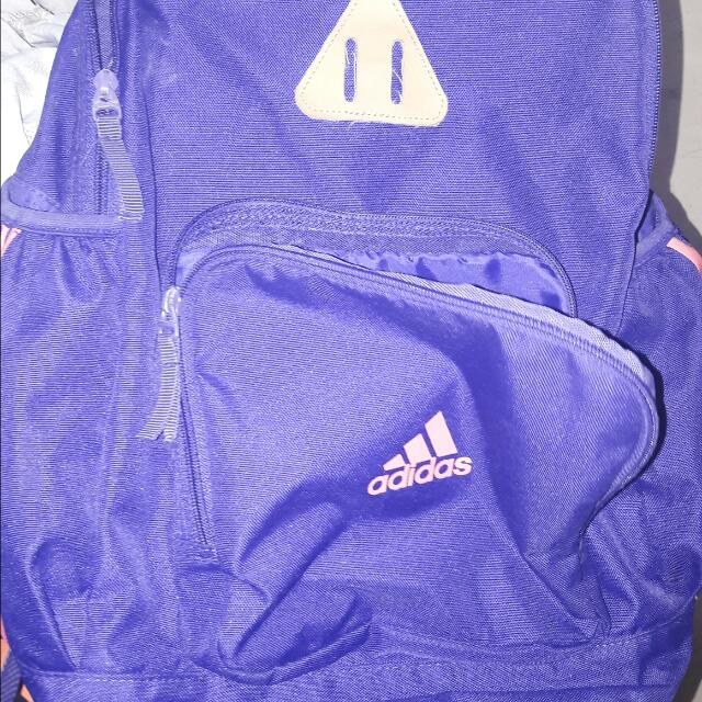 Adidas Purple Backpack - Reserved!