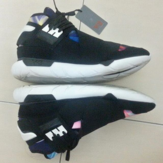0b13e87d18866 Adidas Y3 Qasa High Multicolor (Steal)