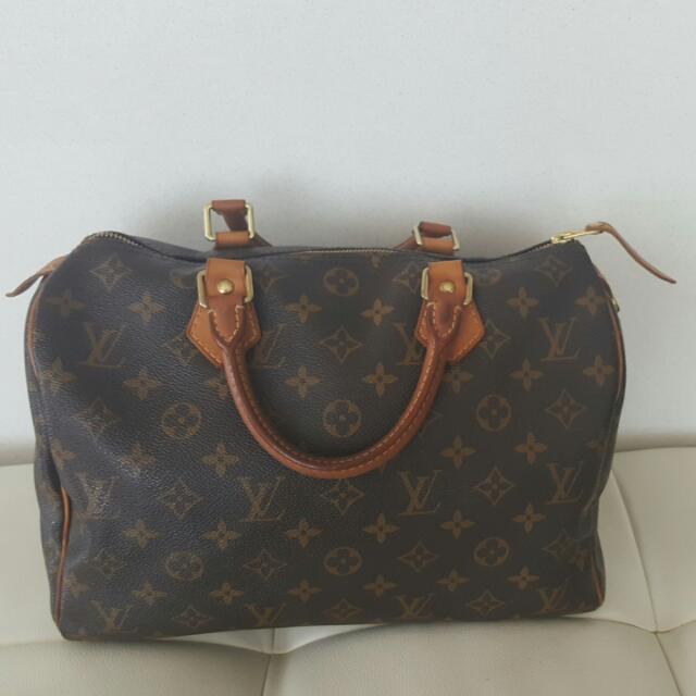 On Hold - Authentic Louis Vuitton Speedy 30