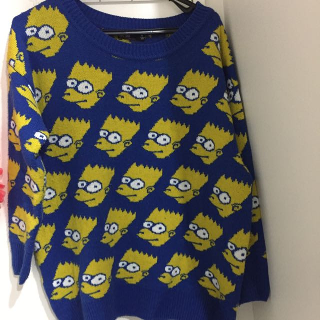 Bart Simpson Jumper