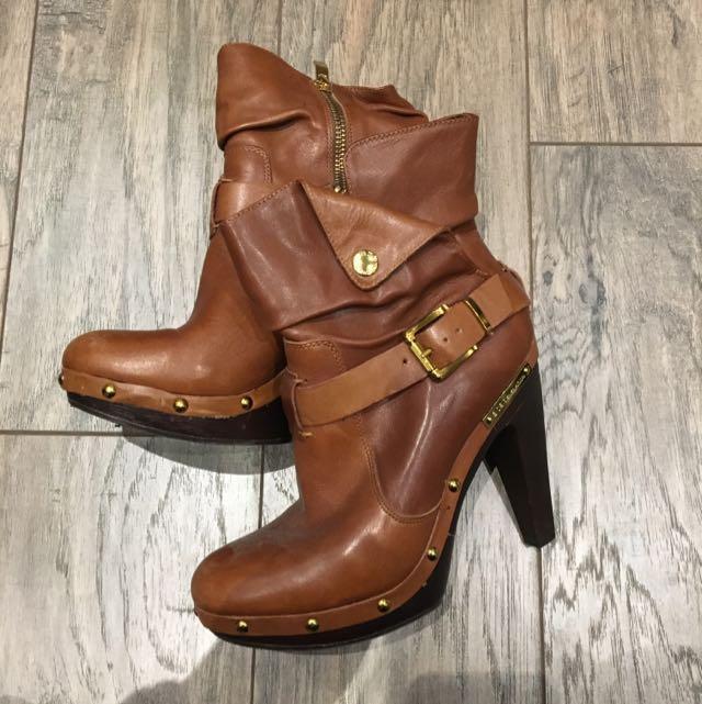 BCBG Brown Boots