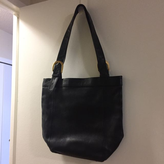 Black Over The Shoulder Purse.