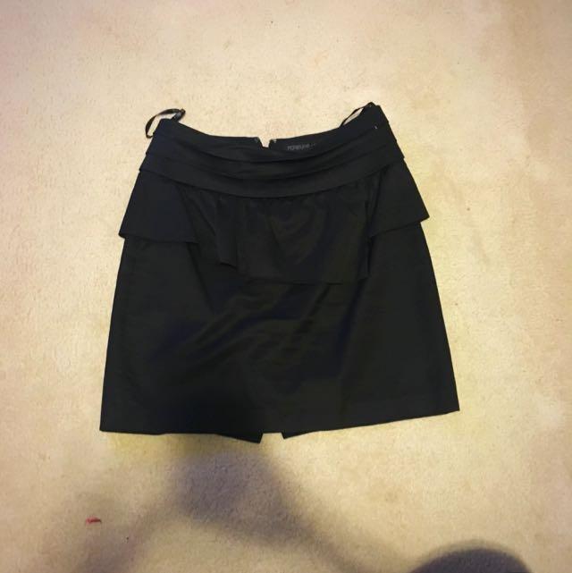 Black Skirt Size 8 Forever New