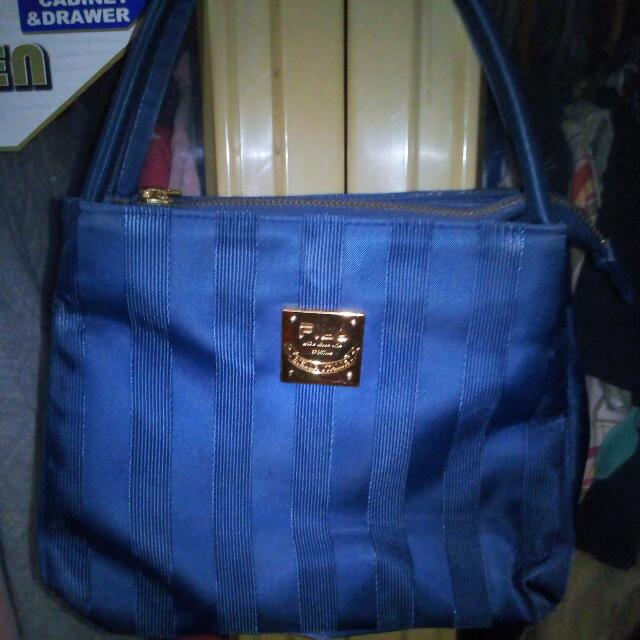 Blue Fila Handbag