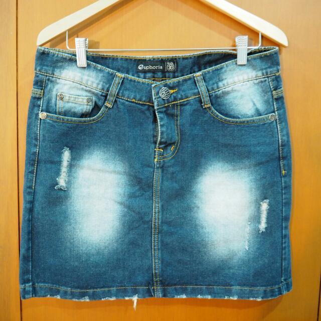 Denim Skirt Size 30 (Euphoria)