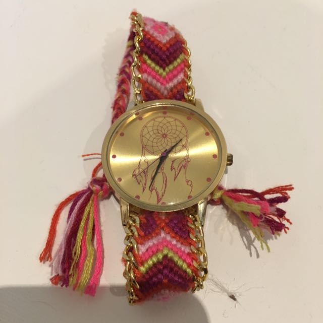 Dream Catcher Crochet Watch